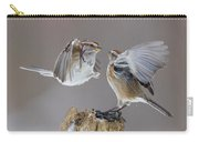 Sparrows Fight Carry-all Pouch