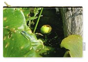 Spatterdock - Wild Yellow Water Lily Carry-all Pouch