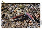 Spawning Salmon - Odell Lake Oregon Carry-all Pouch