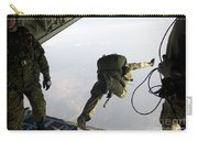 Special Operations Jumpers Exit A C-130 Carry-all Pouch