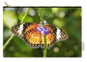 Speckled Butterfly Carry-all Pouch
