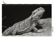 Speckled Iguana Lizard Carry-all Pouch