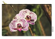 Speckled Orchids Carry-all Pouch
