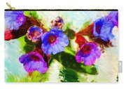 Speckled Trout The Flower Carry-all Pouch