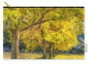 Spectacular  Fall Foliage Pencil  Carry-all Pouch