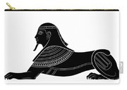 Sphinx - Mythical Creature Of Ancient Egypt Carry-all Pouch