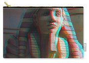 Sphinx - Use Red-cyan 3d Glasses Carry-all Pouch