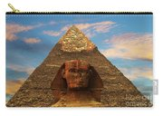 Sphinx And Pyramid Of Khafre Carry-all Pouch