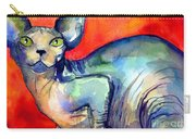 Sphynx Cat 6 Painting Carry-all Pouch