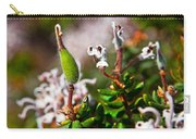 Spider Flower Seed Pod Carry-all Pouch