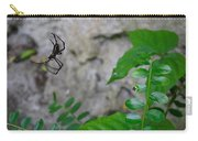 Spider In Thin Air Carry-all Pouch