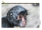 Spider Monkey Face Closeup Carry-all Pouch