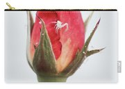 Spider On A Rose Carry-all Pouch