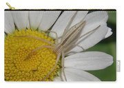 Spider On Daisy Carry-all Pouch