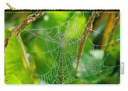 Spider Web Artwork Carry-all Pouch