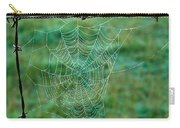 Spider Web In The Springtime Carry-all Pouch
