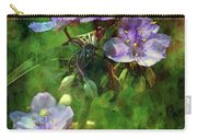 Spider Wort 0264 Idp_2 Carry-all Pouch
