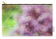 Spiderweb In The Mist Carry-all Pouch