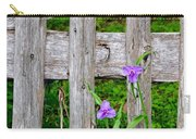 Spiderworts By The Gate Carry-all Pouch
