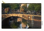 Spiegelgracht Canal In Amsterdam. Netherlands. Europe Carry-all Pouch