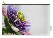 Spikey Passion Flower Carry-all Pouch