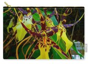 Spindly Orchid Carry-all Pouch