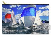 Spinnakers And Sails By Kaye Menner Carry-all Pouch