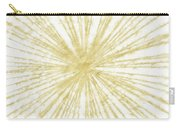 Spinning Gold- Art By Linda Woods Carry-all Pouch