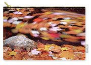 Spinning Leaves Of Autumn Carry-all Pouch