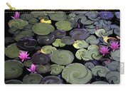 Spinning Lilies Carry-all Pouch
