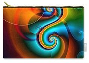 Spiral Composition 8 Carry-all Pouch