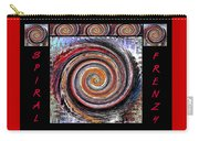 Spiral Frenzy Poster Carry-all Pouch