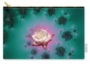 Spiral To A Rose Fractal 140 Carry-all Pouch