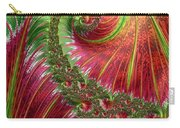 Spiralling Fractal Three Carry-all Pouch