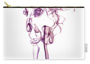 Ghostly Smoke - Magenta Carry-all Pouch