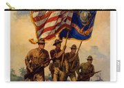 Spirit Of 1917 - Join The Us Marines  Carry-all Pouch by War Is Hell Store