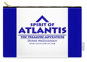 Spirit Of Atlantis Logo Carry-all Pouch