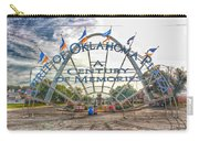Spirit Of Oklahoma Plaza  Carry-all Pouch