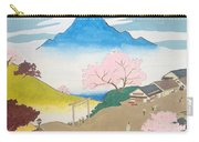 Spirit Of Shinto And Ukiyo-e In The Light Of Nature Carry-all Pouch