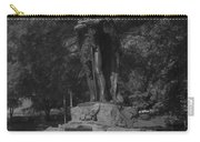 Spirit Of The Confederacy Black And White Carry-all Pouch
