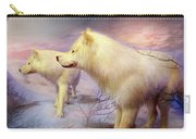Spirit Of The White Wolf Carry-all Pouch