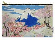 Spirit Of Ukiyo-e Illuminated By Stunning Nature Carry-all Pouch