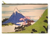 Spirit Of Ukiyo-e In The Light Of Shinto Carry-all Pouch
