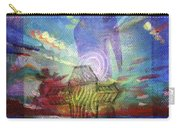 Spiritual Rising At Sunset Carry-all Pouch
