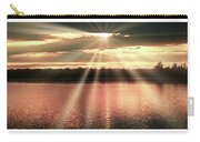 Spiritual Sunset Above A Mountain Lake Carry-all Pouch