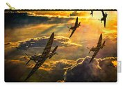 Spitfire Attack Carry-all Pouch by Chris Lord