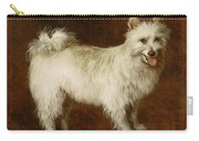 Spitz Dog Carry-all Pouch by Thomas Gainsborough