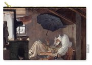 Spitzweg: Poor Poet, 1839 Carry-all Pouch