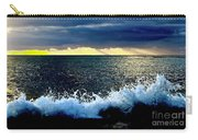 Splash At Sunset Carry-all Pouch