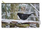 Splash. Eurasian Blackbird Carry-all Pouch